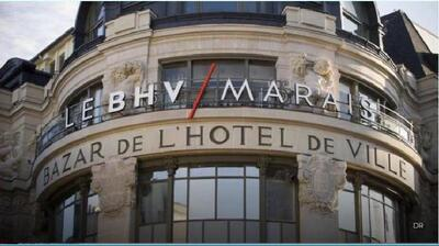 BHV MARAIS - IMBERNON MET LE CORBUSIER À L'HONNEUR