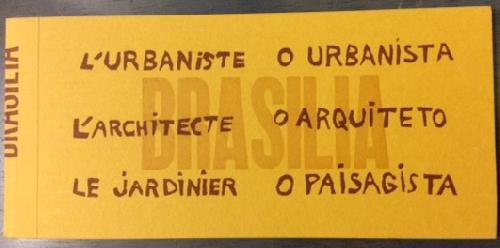L'urbaniste, l'architecte, le jardinier : O urbanista, o arquiteto, o paisagista