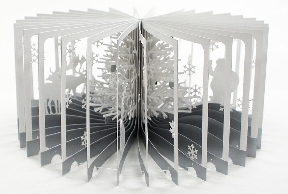 360° Book Snowy World - Yusuke Oono
