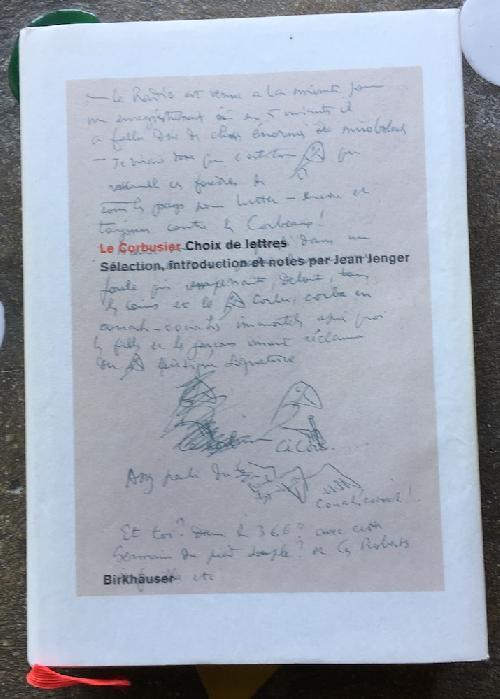 Choix de lettres - Le Corbusier