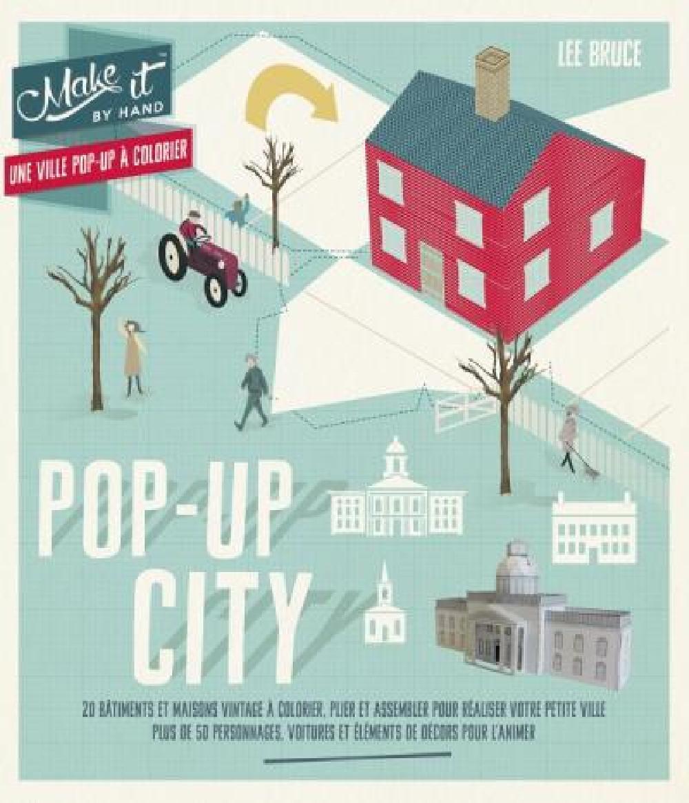 Pop-up city - Une ville pop-up à colorier