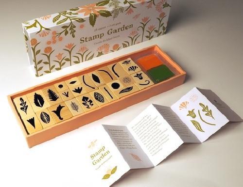 Stamp garden (Coffret) - Tampons