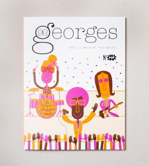 Georges Drôle de Magazine pour Enfants n° POP