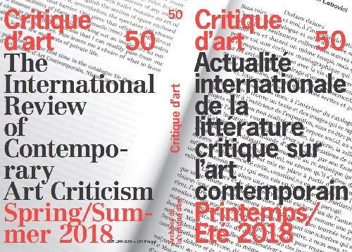 Critique d'art n°50