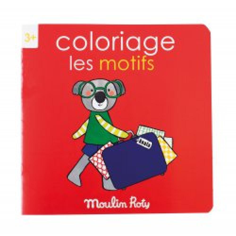 Cahier de coloriage les motifs les Popipop