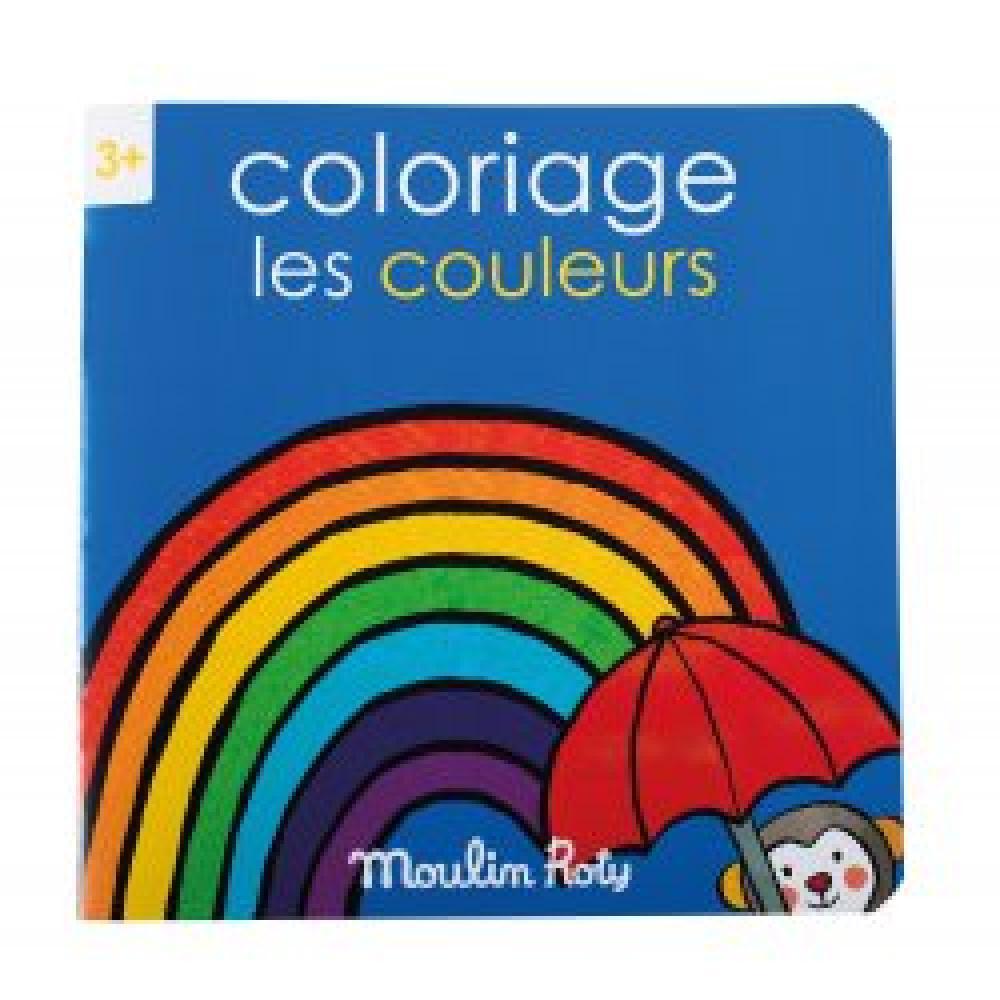 Cahier de coloriage les couleurs les Popipop