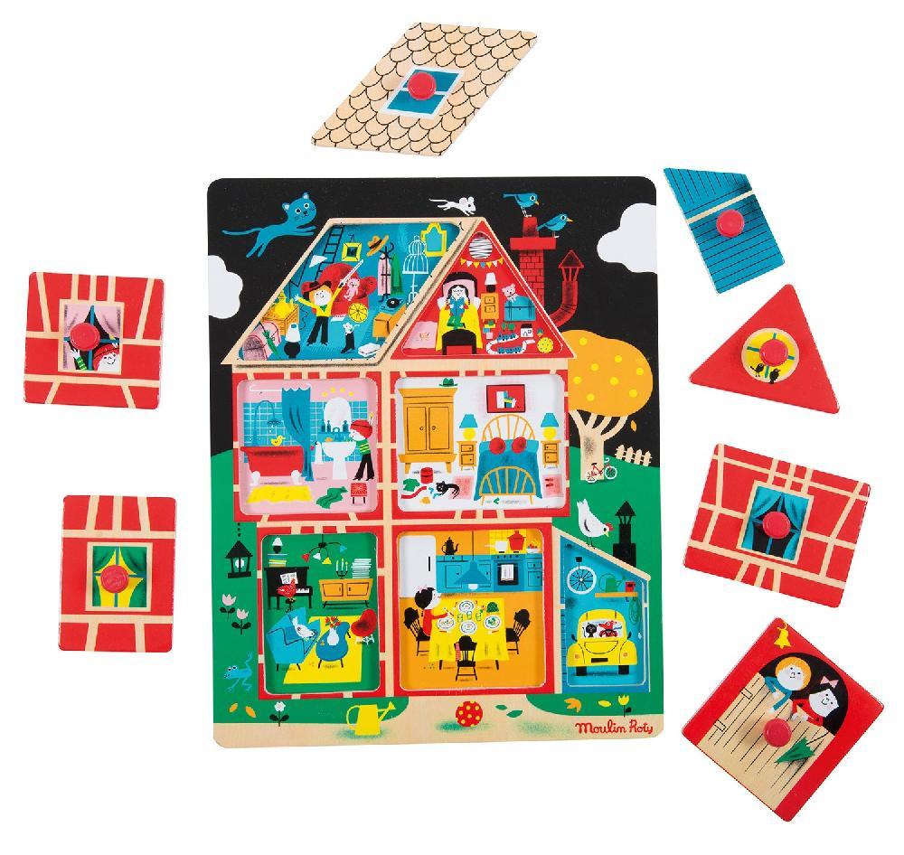 Puzzle maison Les Bambins