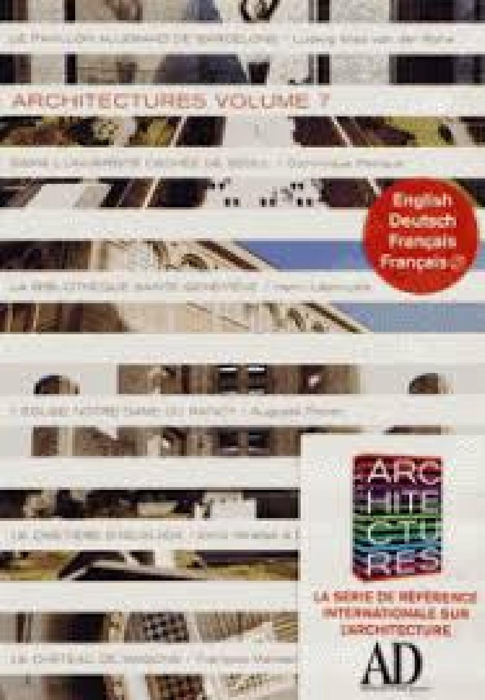 Architectures - Volume 7