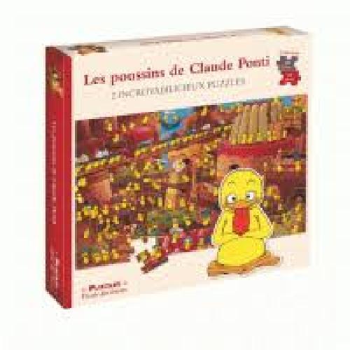 Les poussins de Claude Ponti - 2 incroyables puzzles