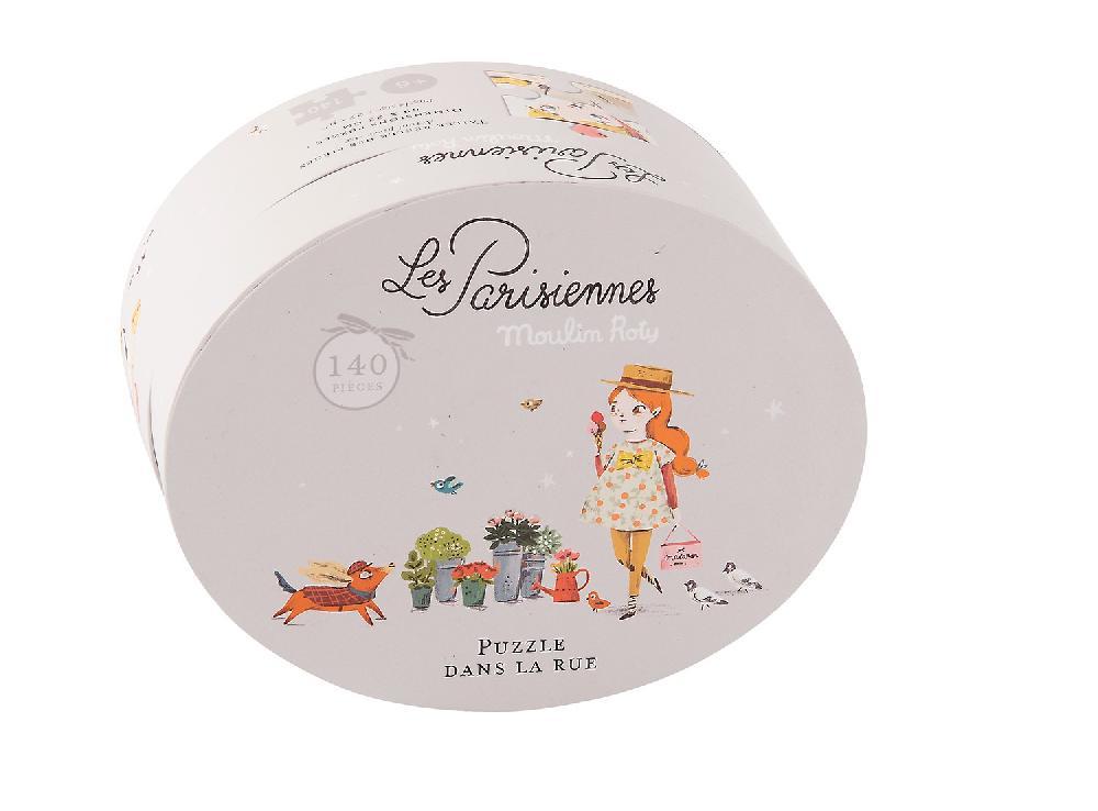 Puzzle Dans la rue Les Parisiennes (140 pièces)