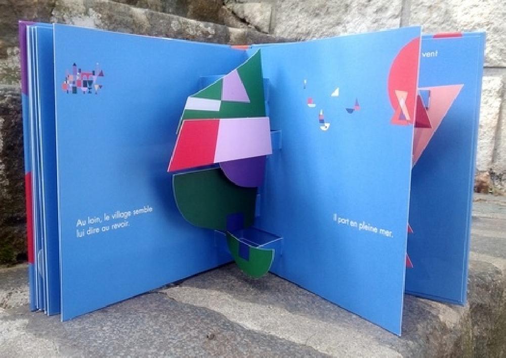 Pop-up Paul Klee - Voyage d'un tableau à un autre