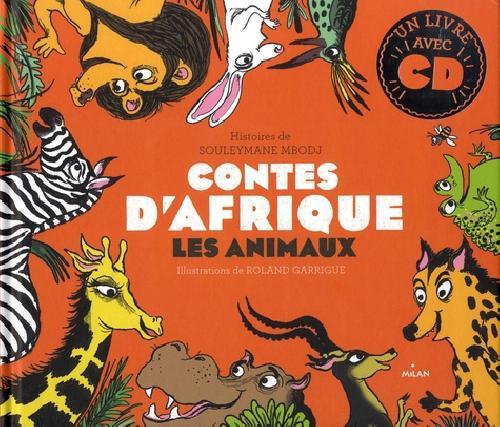 Contes d'Afrique - Les animaux (Livre-CD)