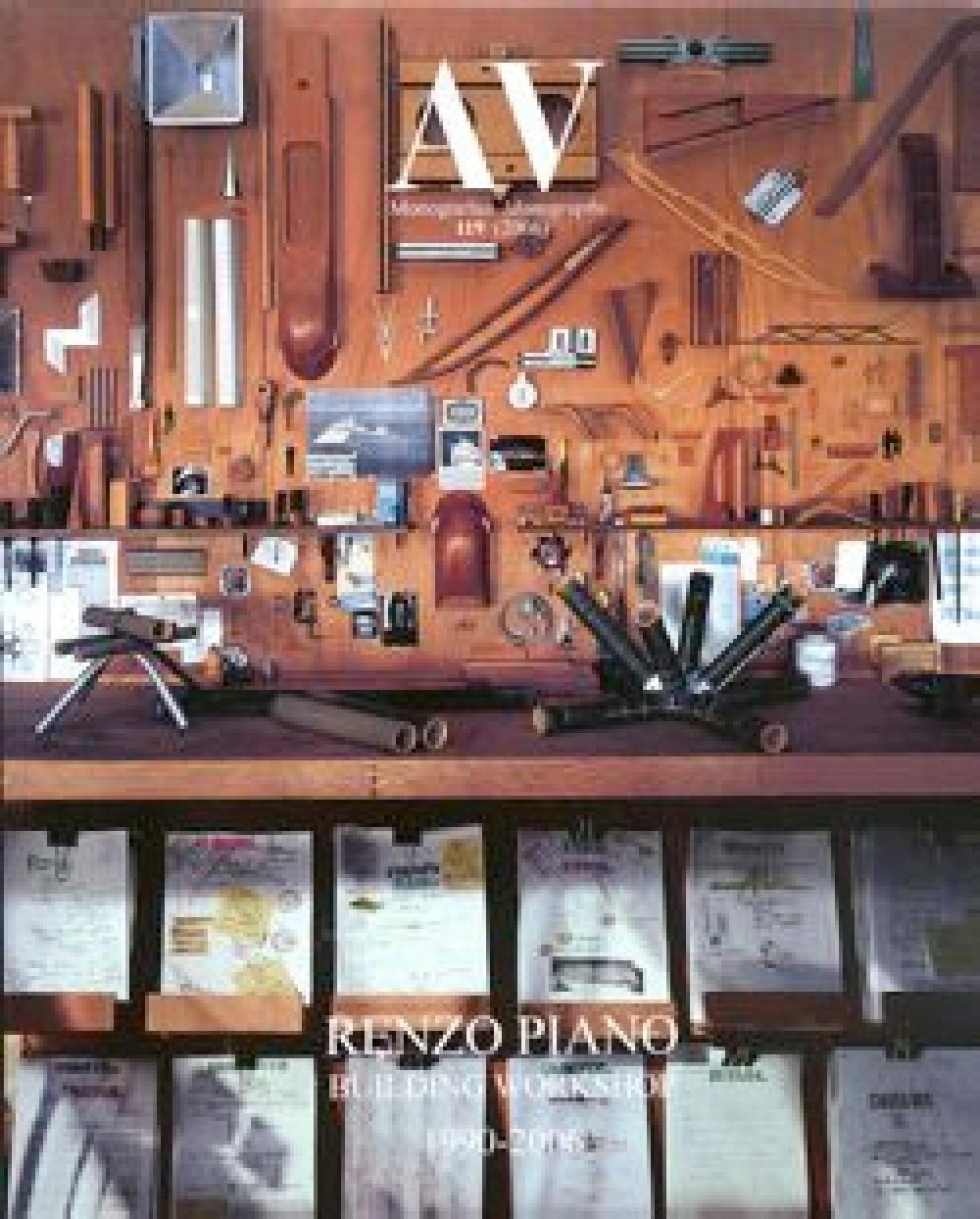 AV Monografias / Monographs 119, Renzo Piano