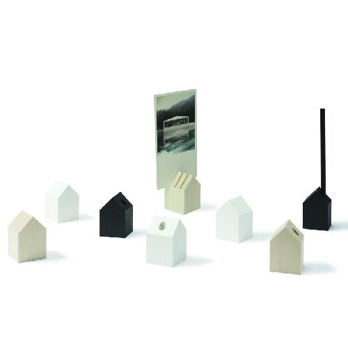 Tiny house pencil/card holder.