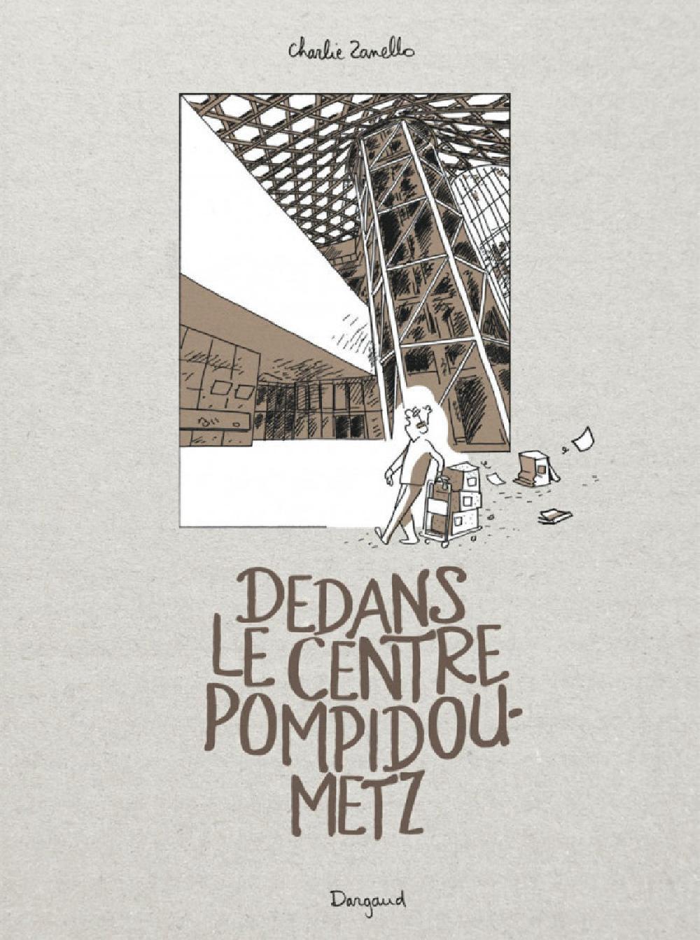 Dedans le Centre Pompidou-Metz