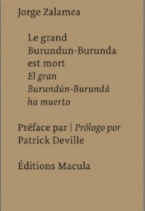 Le grand Burundun-Burunda est mort