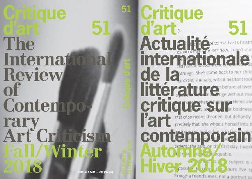 Critique d'art n°51