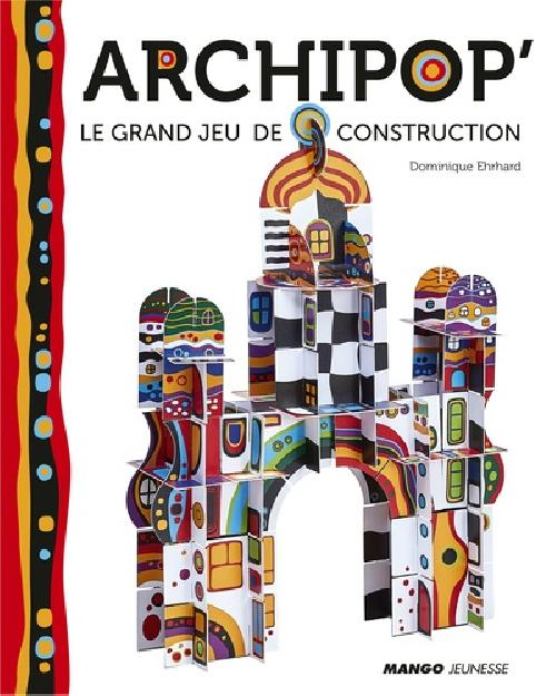 Archipop' - Le grand jeu de construction, avec 90 pièces à détacher et à assembler
