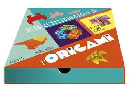 Kit d'initiation à l'origami - Avec 80 feuilles (Coffret)
