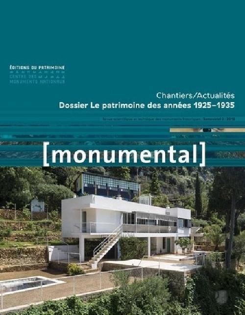Monumental Semestriel 2 / Le patrimoine des années 1925-1935