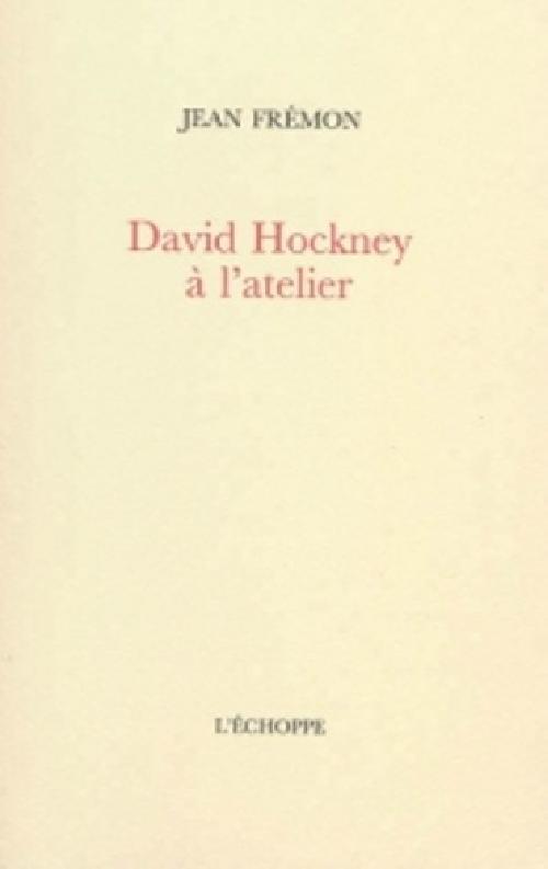 David Hockney à l'atelier