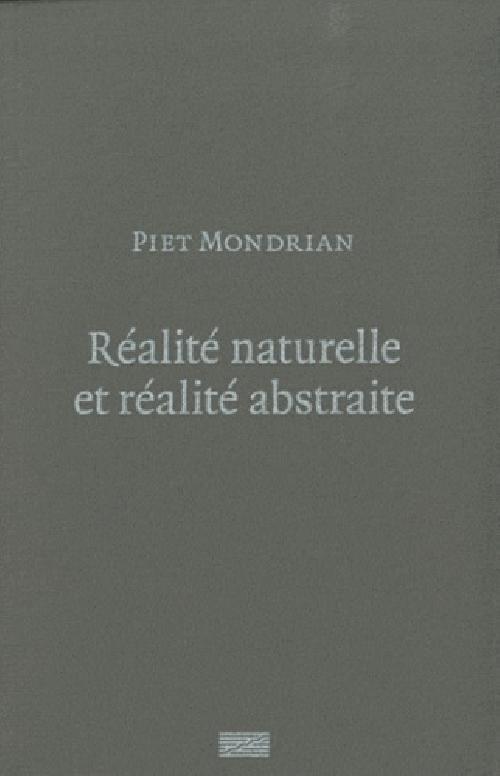 Réalité naturelle et réalité abstraite