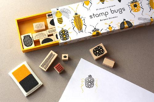 Stamp bugs (Coffret) - Tampons