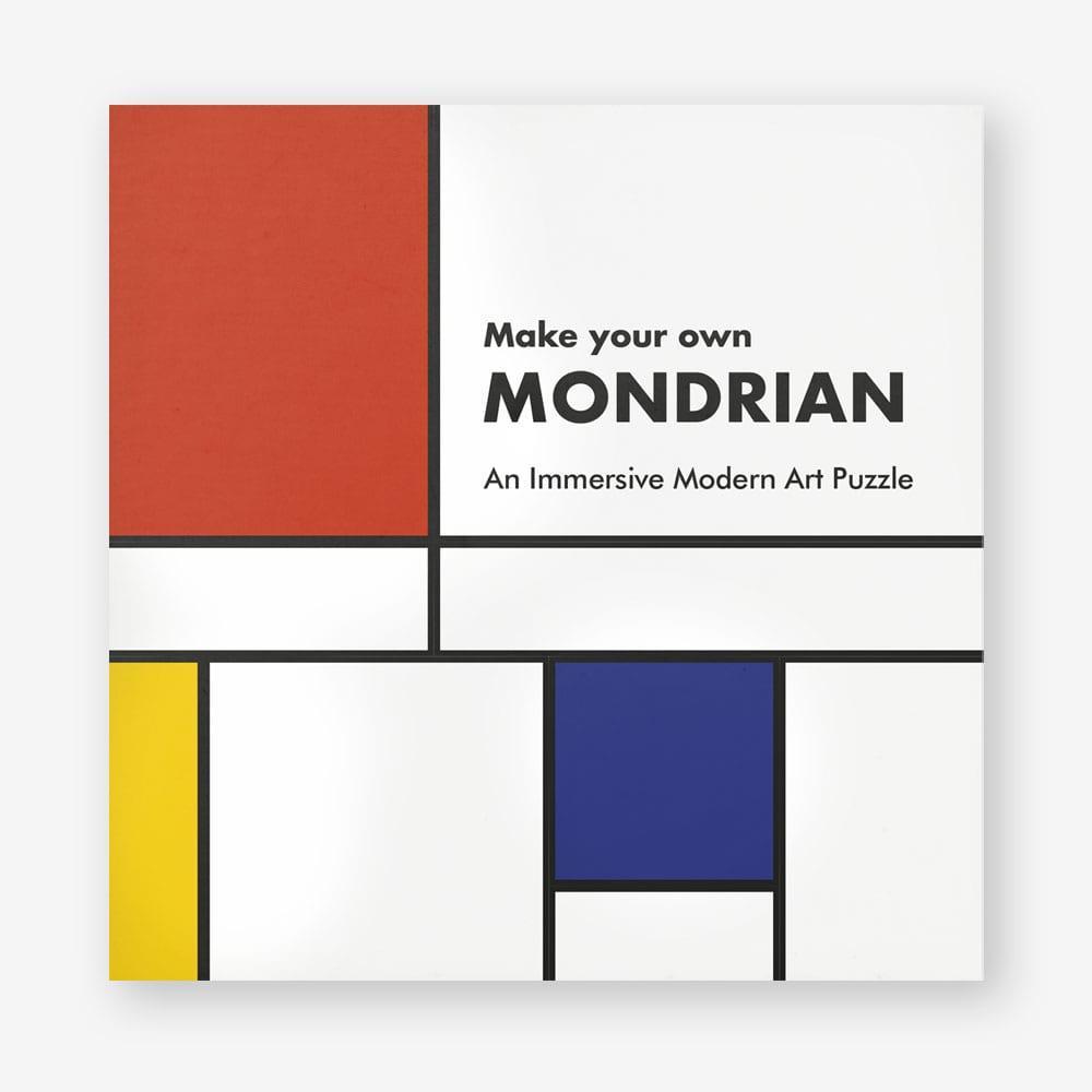 Make Your Own Mondrian A Modern Art Puzzle
