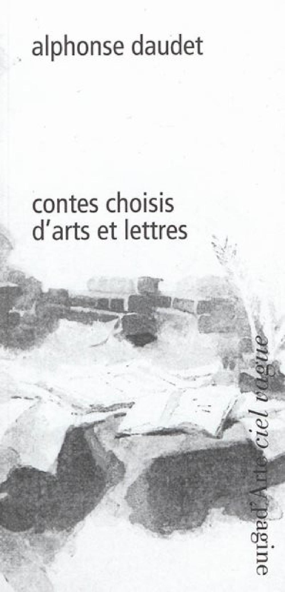 Contes choisis d'arts et lettres
