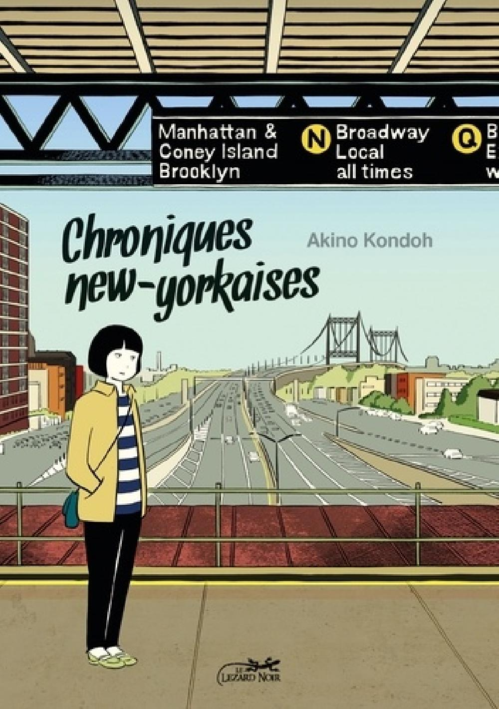 Chroniques new-yorkaises - Journal d'une mangaka à New York Tome 1