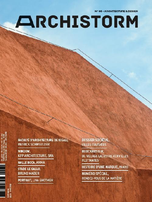 Archistorm N°95 Villes cultivées - mars/avril 2019