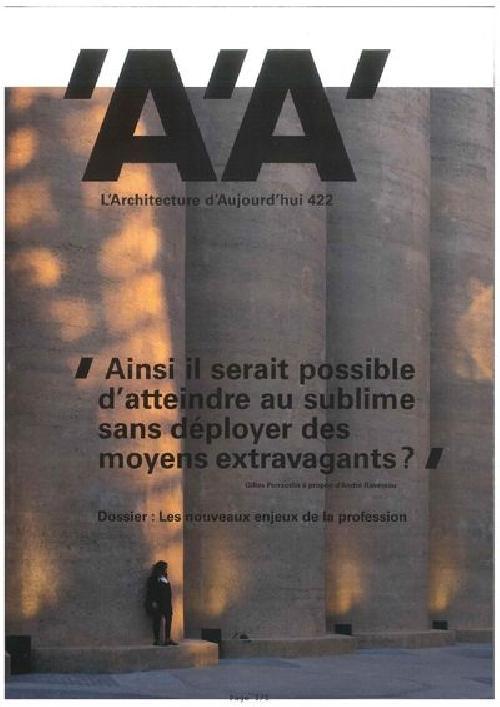 L´Architecture d'Aujourd'hui n°422 Décembre 2017