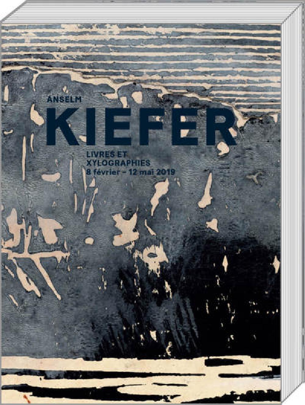 Anselm Kiefer - Livres et xylographies