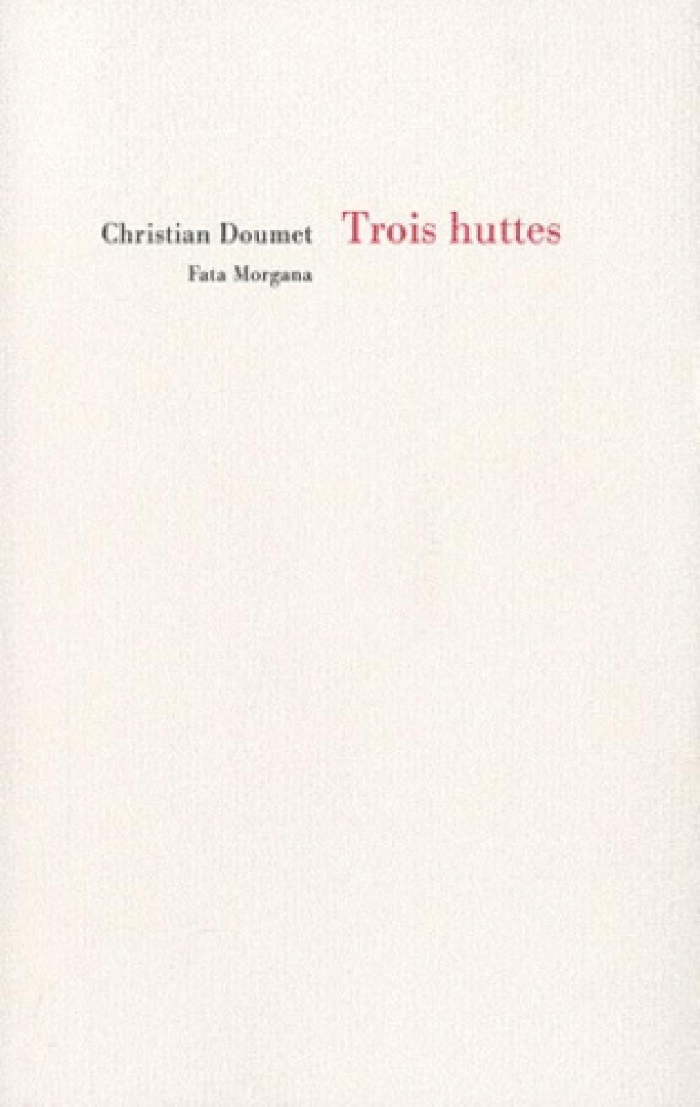 Trois huttes - Thoreau, Patinir, Bashô