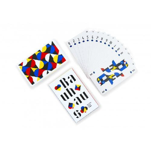 BAUHAUS PLAYING CARDS ( Cinq Points )