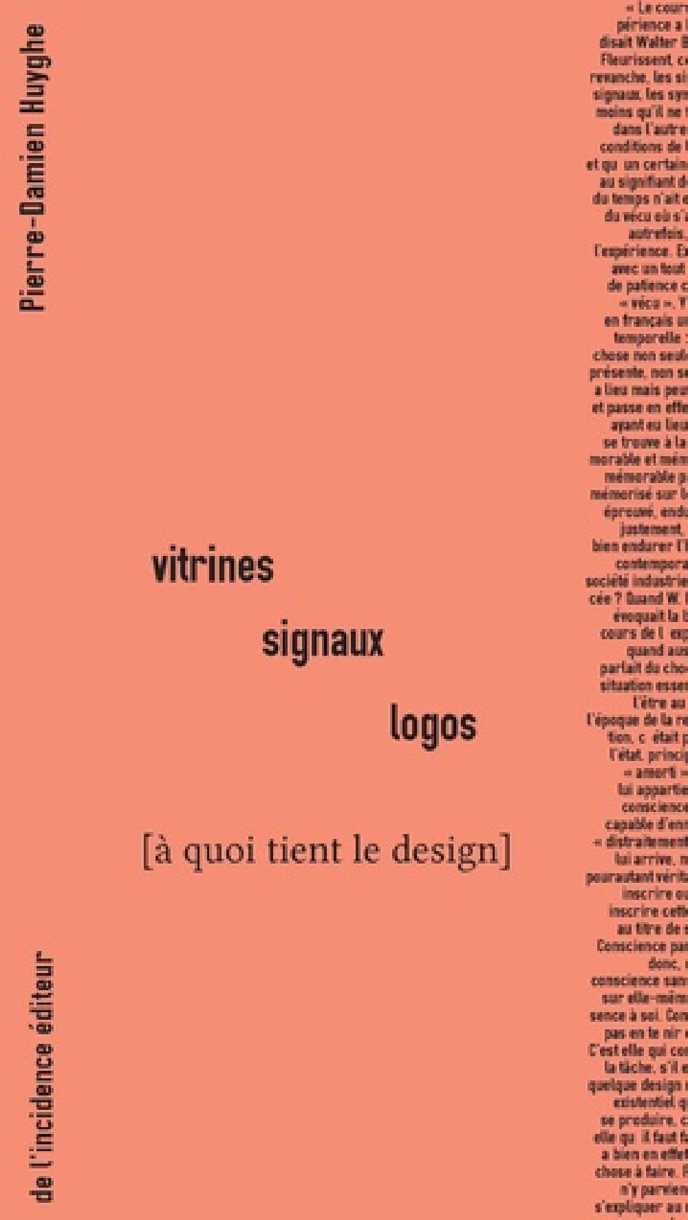 Vitrines signaux logos - À quoi tient le design