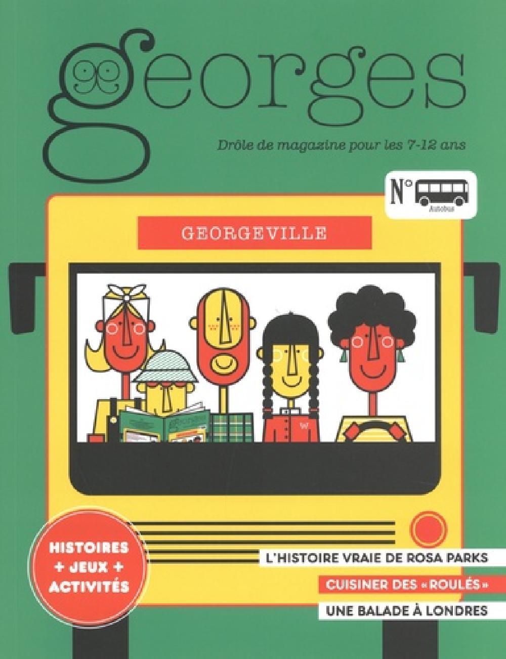 Georges N° 41, août-septembre - Autobus