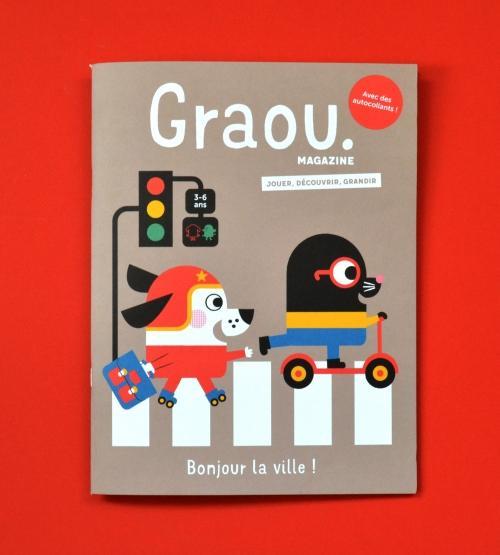 Magazine Graou N° 13 Bonjour la ville