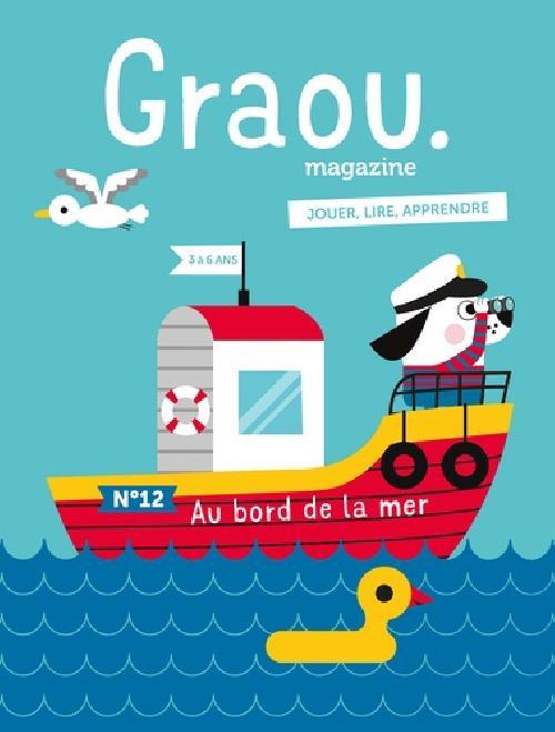 Magazine Graou N°12 - au bord de la mer