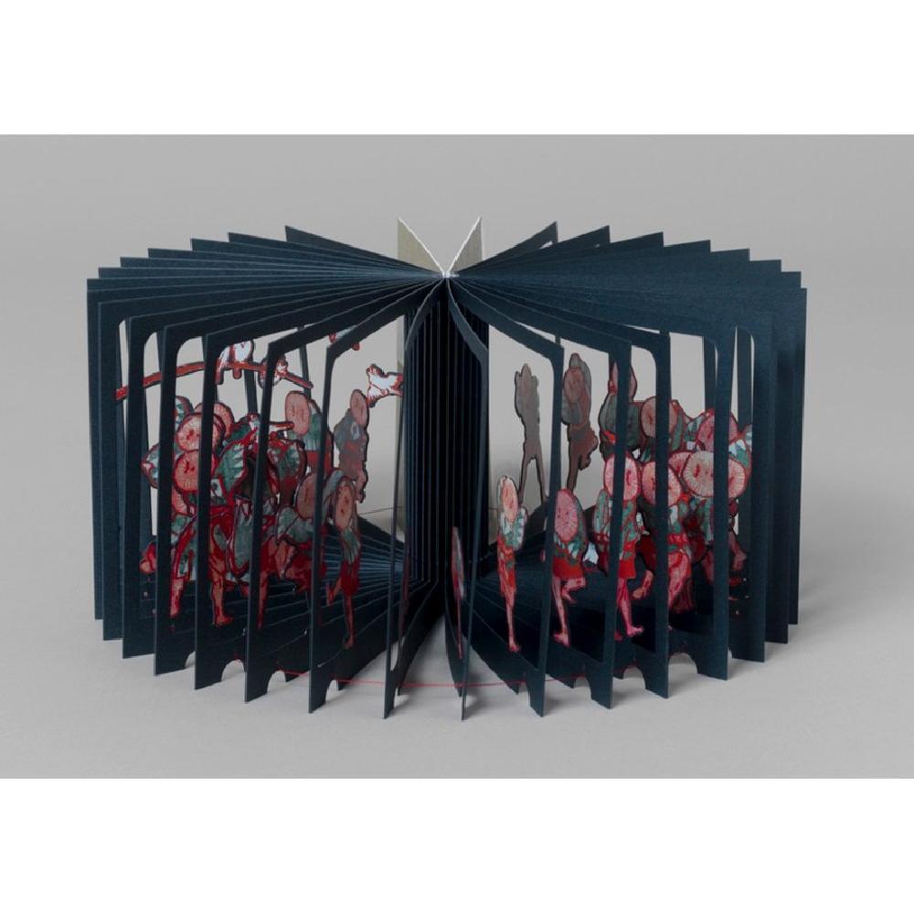 360° Book Hokusai Suzume Odori -  Yusuke Oono