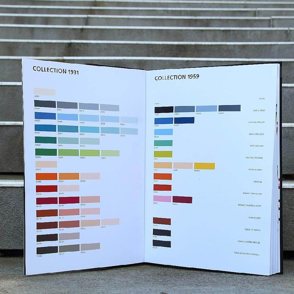 Le Corbusier Claviers de couleurs - Livre d'échantillons d'IGP