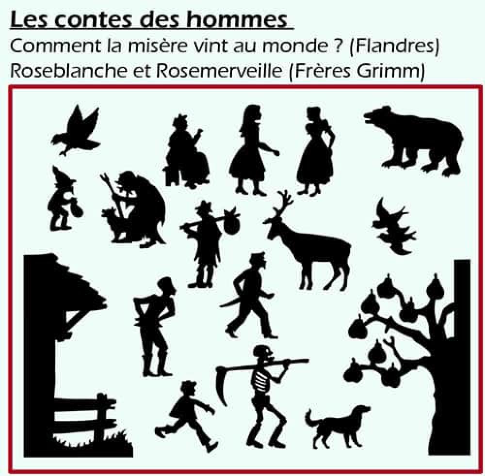 Théâtre d'ombres - Les contes des hommes
