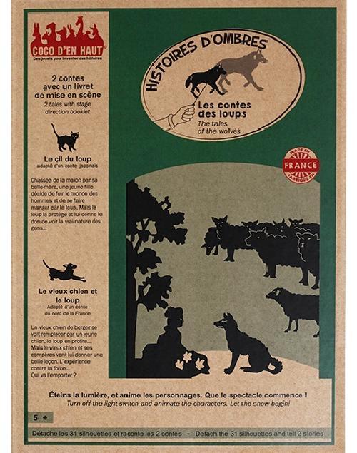 Pochette à histoires - les contes des loups