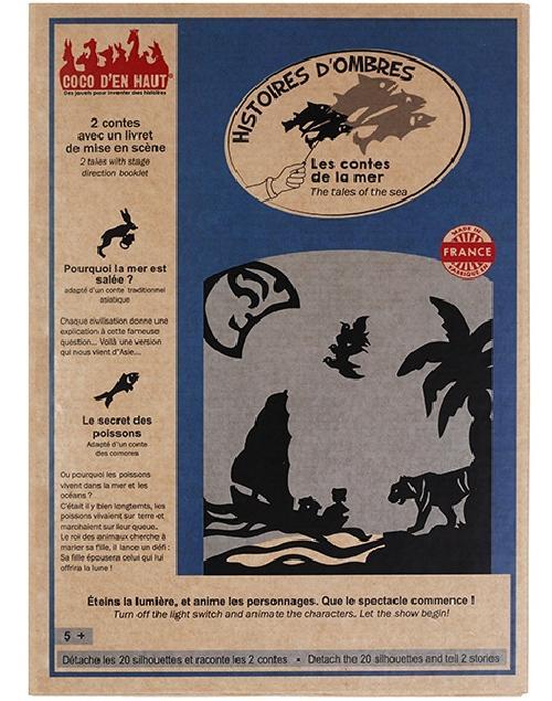 Pochette à histoires - les contes de la mer