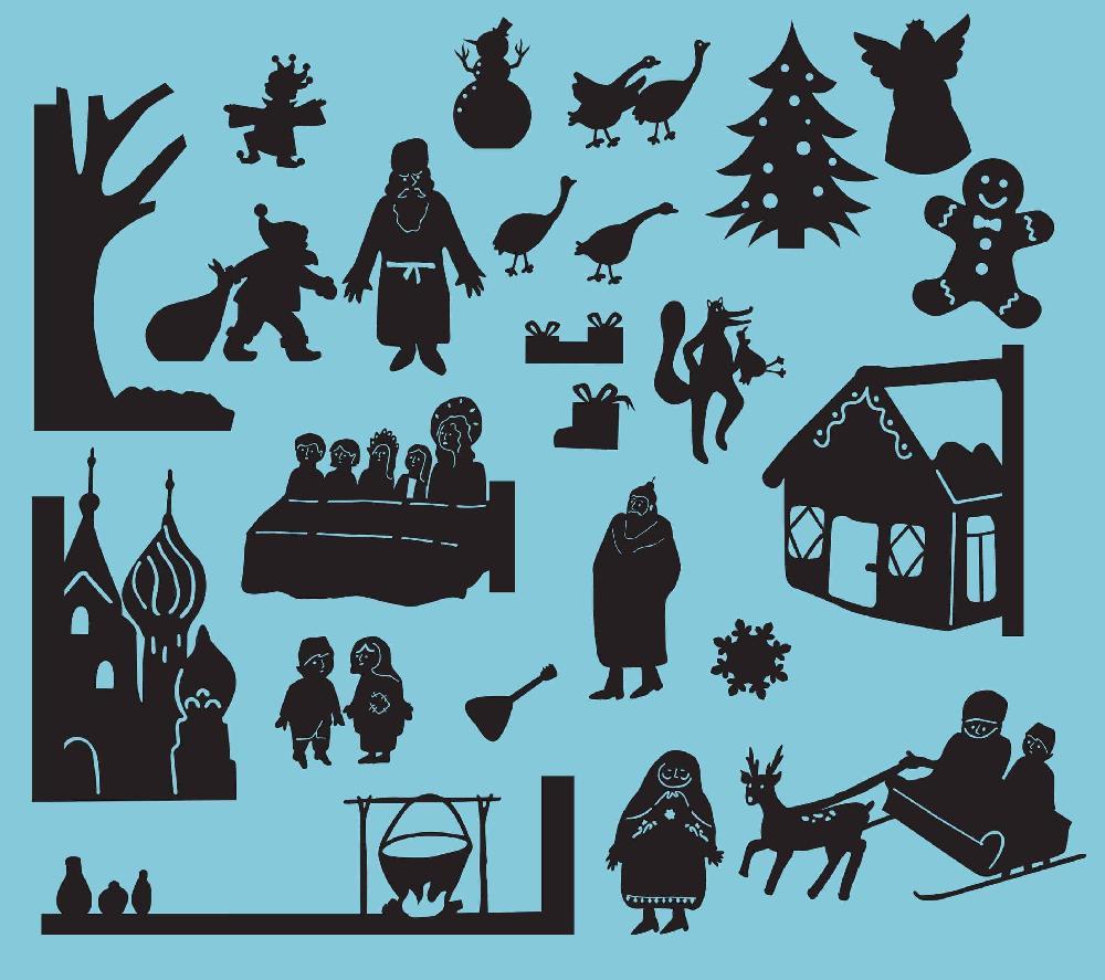 Pochette à histoires - les contes d'hiver