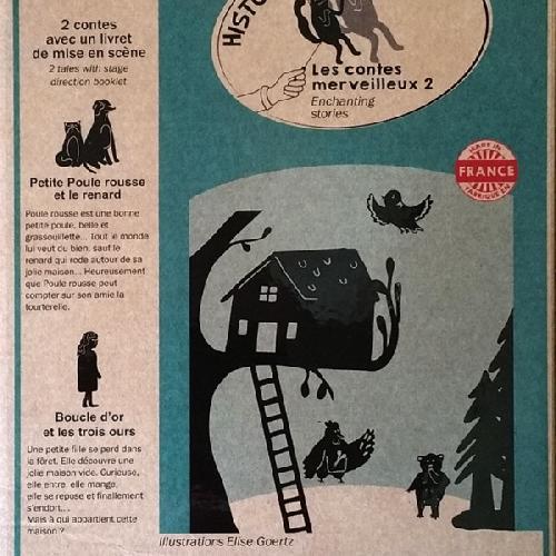 Pochette à histoires - les contes merveilleux 2