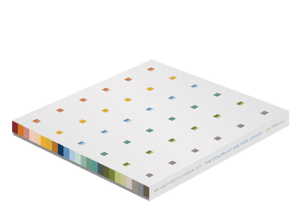 An Architect's Pencil Set.  The Colors of Michael Graves