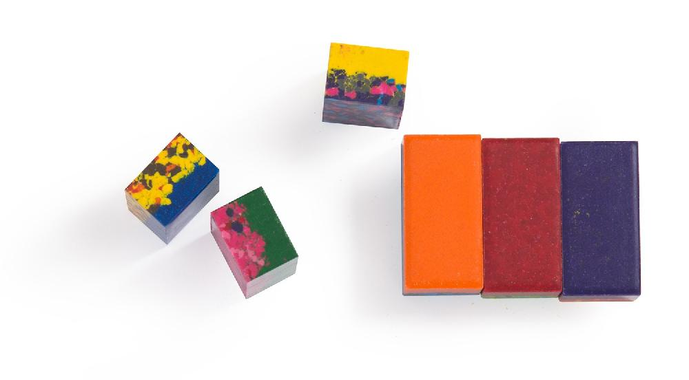 Boîte de 6 pierres de cire à dessiner Les Petites Merveilles