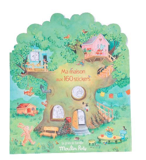 Cahier stickers La Grande Famille