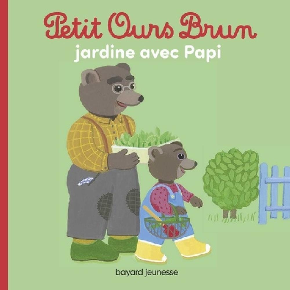 Petit Ours Brun jardine avec Papi